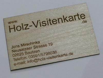 Www Holz Visitenkarte De Home